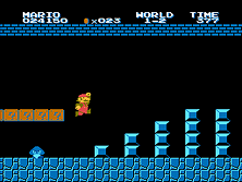 Snapshot:  Vs. Skate Kids. (Graphic hack of Super Mario Bros.)